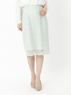 【NOLLEY'S sophi】リーフレーススカート
