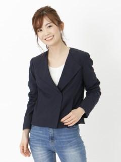 強撚綿麻ツイルライトジャケット