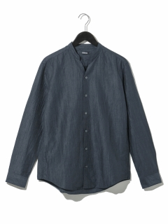 【STUTOSTEN】スキッパーバンドカラーシャツ