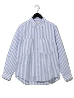 ビッグシルエット ボタンダウンシャツ