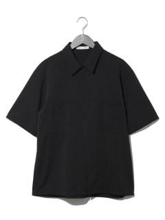 グレンチェックZIPUPシャツ