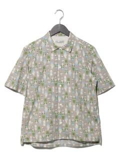 Bearsオープンカラー半袖シャツ