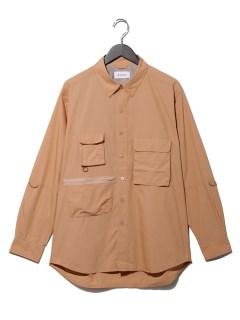 C/N POPLIN Fishing shirt
