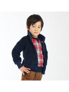 【メンズ】ボアフルジップジャケット
