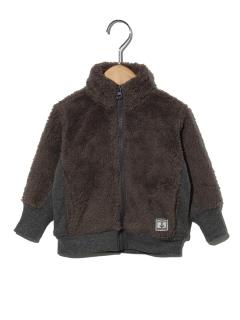 【ベビー】ボアフルジップジャケット