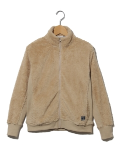 【キッズ】ボアフルジップジャケット