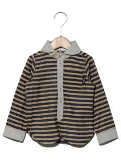 【ベビー】ボーダークレリックシャツ
