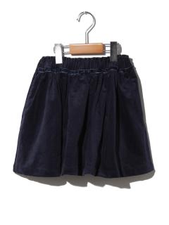 【キッズ】細コールスカート