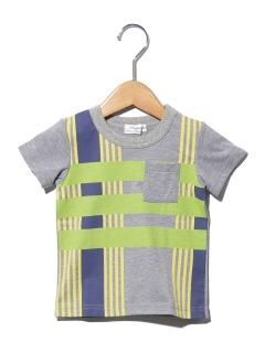 レジメンタルチェックTシャツ