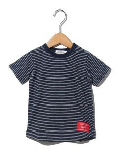 インディゴボーダーTシャツ