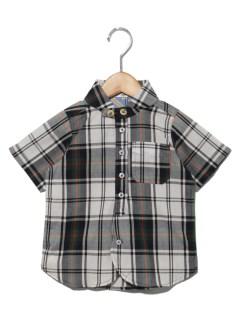 TAPPETチェックマリンカラーシャツ