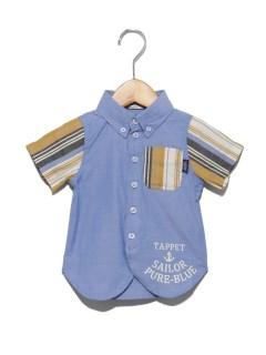 TAPPETシャンブレーボタンダウンシャツ(ベビー)