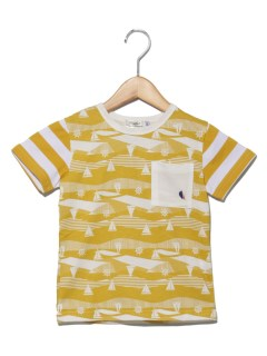 TAPPETマリン総柄Tシャツ