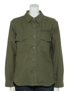 刺繍入りミリタリージャケット