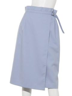 アシンメトリーラップタイトスカート