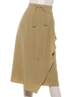 キョウネンセットアップラップタイトスカート