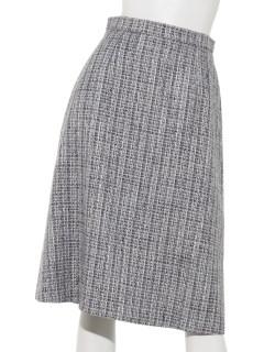 MIXツィードフレアースカート