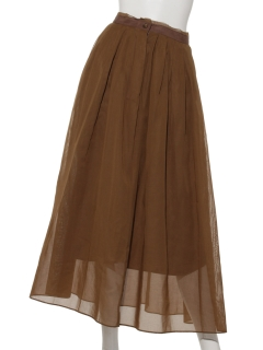 APS オーガンジースカート