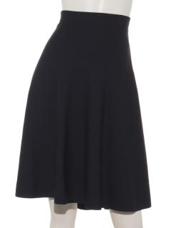 グログランフラワーコンビスカート