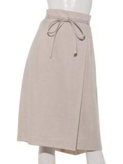 ミラノリブリボン付スカート
