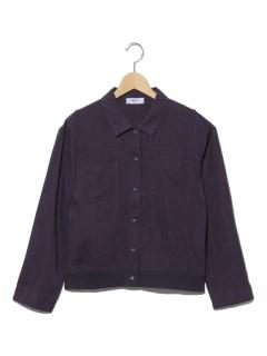裾リブシャツジャケット