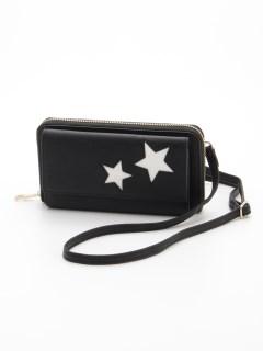 星柄お財布ショルダーバッグ