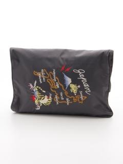 スカジャン刺繍クラッチ2