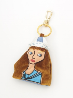 Lady Key Charm