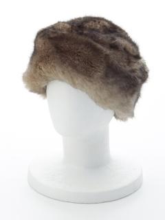 2トーンフェイクファーロシア帽