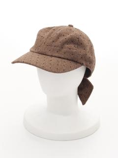 バッグリボン柄CAP