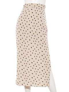 レトロパターンタイトスカート