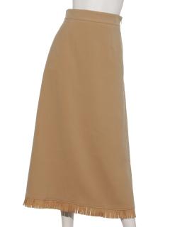 フリンジミディスカート