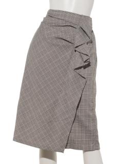 フリルタイトスカート