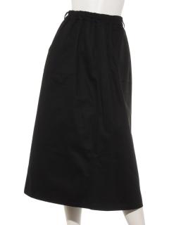カラーツイルベイカーロングスカート
