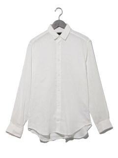 リネン長袖シャツ