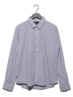 ブロードストライプレギュラーシャツ