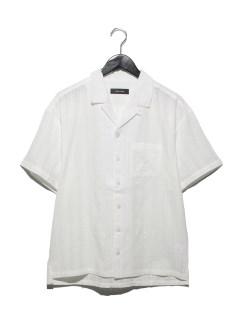 ドビー半袖開襟シャツ