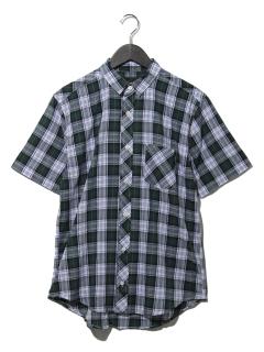 半袖マドラスチェックシャツ