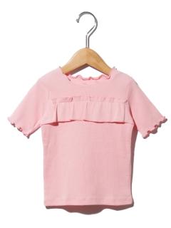 テレコフリルTシャツ