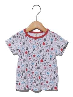 アニマル総柄Tシャツ