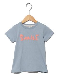 くまロゴ発泡プリントTシャツ
