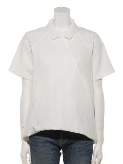 ドビー半袖ツイストシャツ