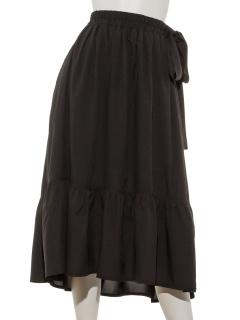 リボンティアードスカート