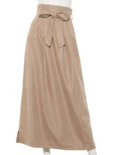 微起毛ロングスカート