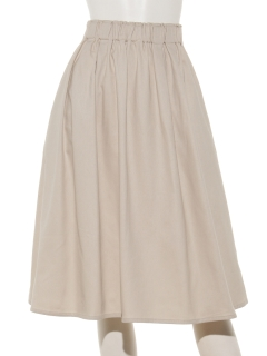 裏起毛綿ツイルスカート