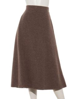 ヘリンボーンジャガードスカート