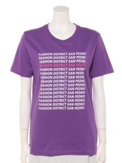 ・小ロゴプリントTシャツ