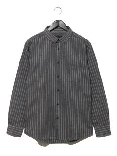 T/Cネル ストライプシャツ