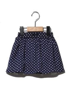 ドットインナーパンツ付きスカート