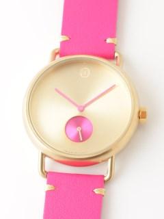 【ユニセックス】腕時計 Luna Gold ルナゴールド レザーベルト